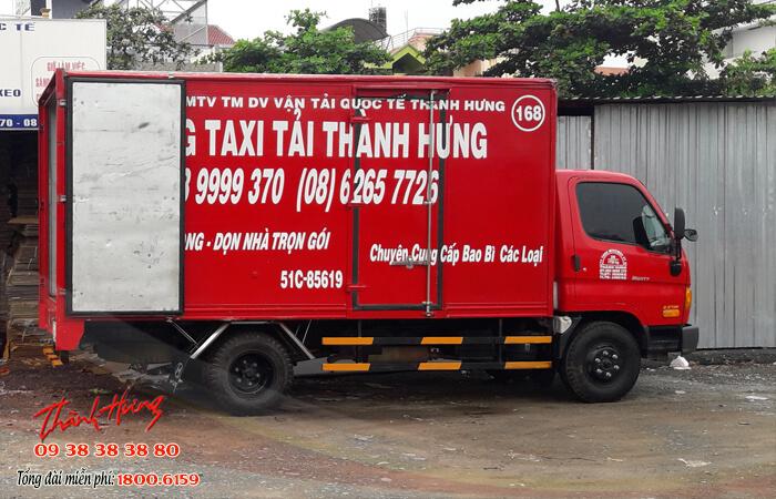 Taxi tải Thành Hưng đã và đang là đơn vị đi đầu trong hầu hết các dịch vụ vận chuyển.